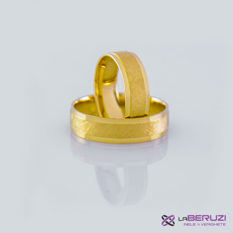 Verighete din aur de 14k GAT 017 - in stoc