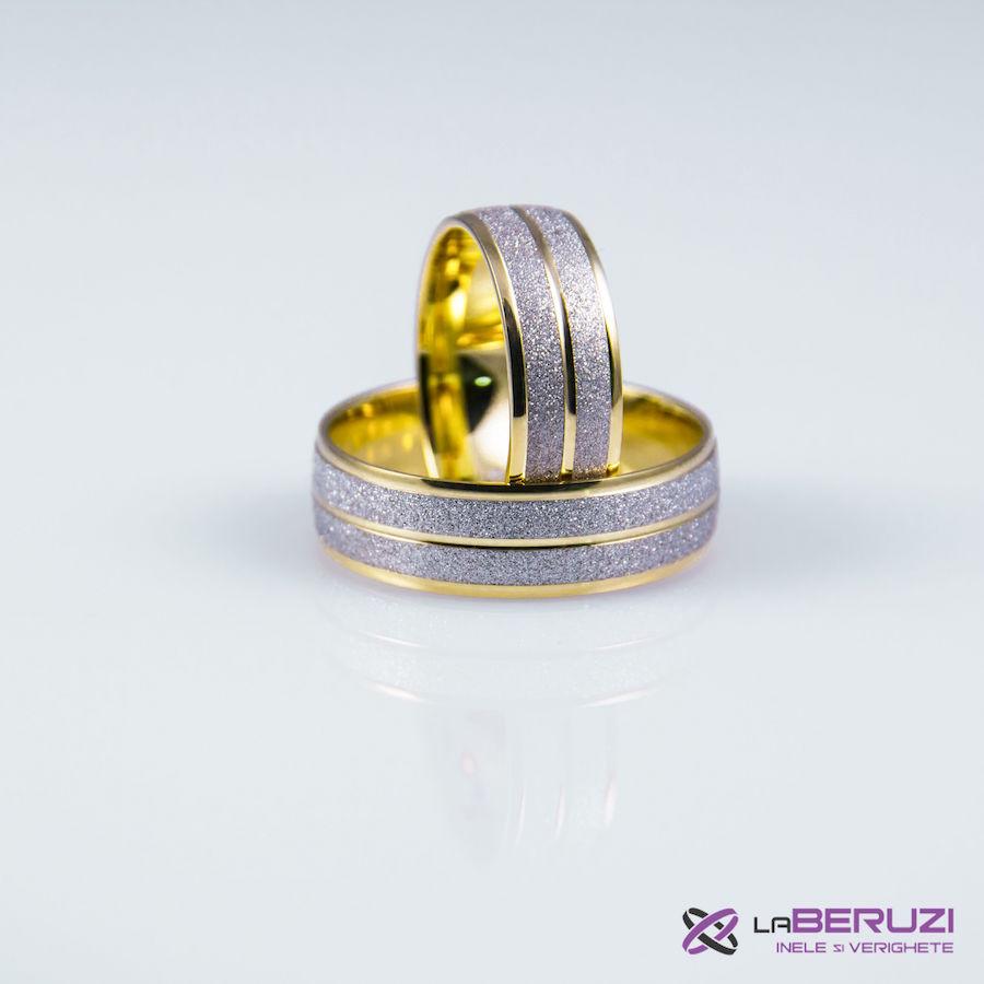 Verighete din aur de 14k GAT 007 - in stoc