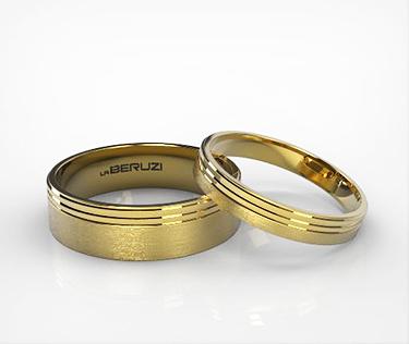Verighete din aur galben de 14k SS 130