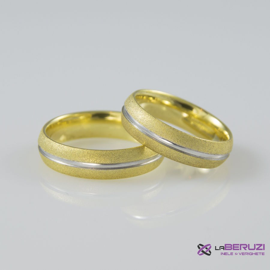 Verighete din aur de 14k SS 447