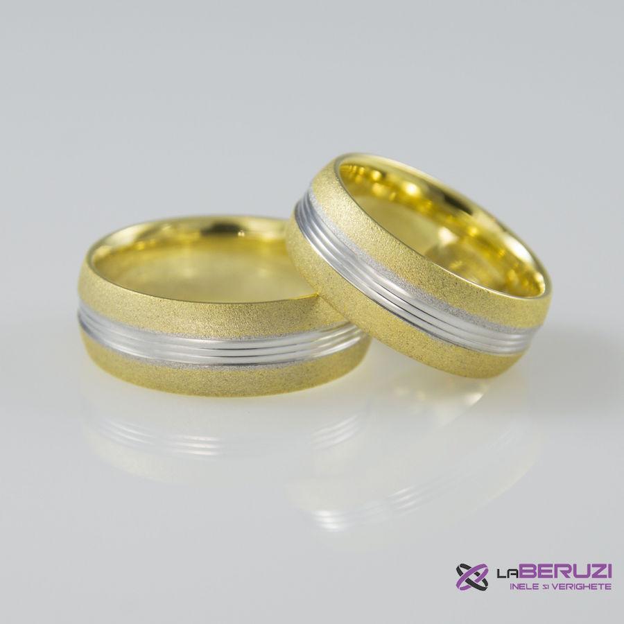 Verighete din aur de 14k SS 409