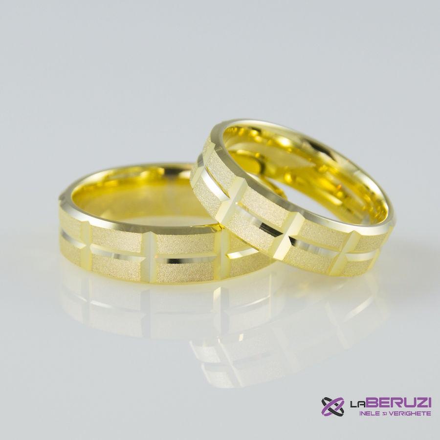 Verighete din aur de 14k SS 379