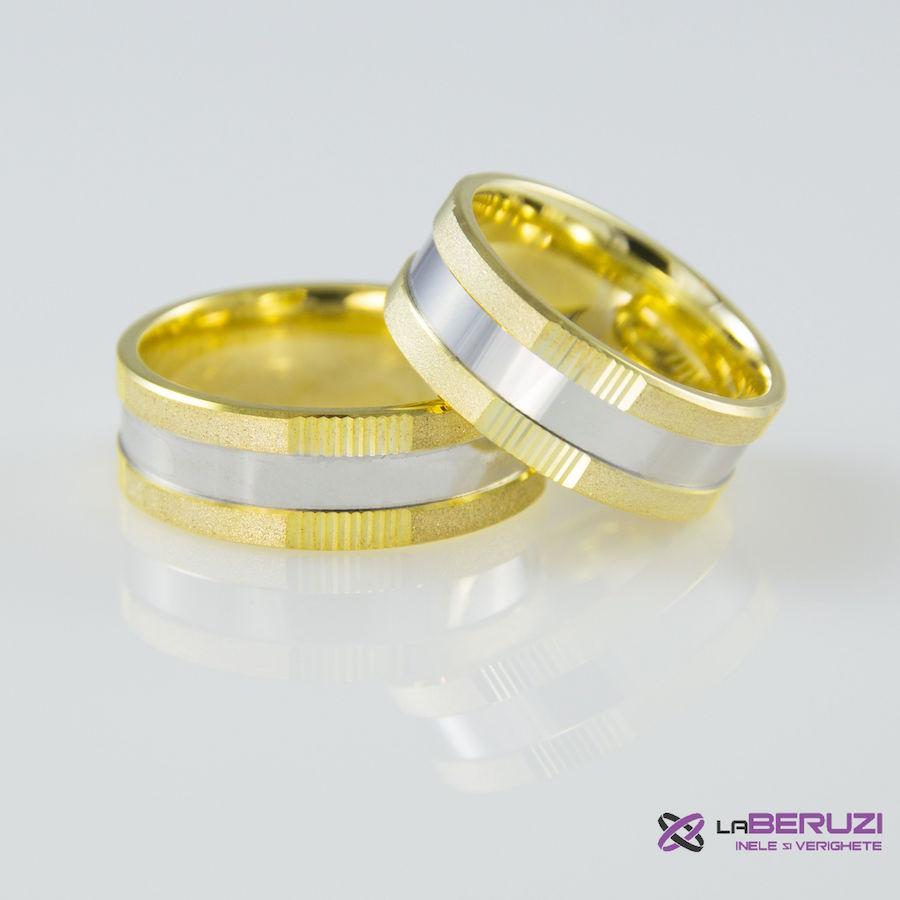 Verighete din aur de 14k SS 325