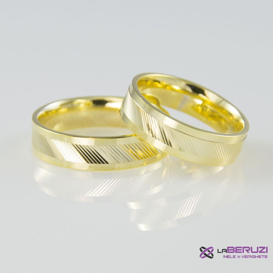 Verighete din aur de 14k SS 465