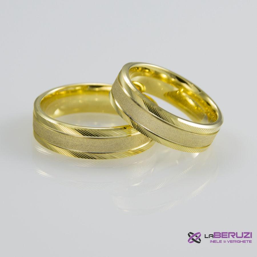 Verighete din aur de 14k SS 336