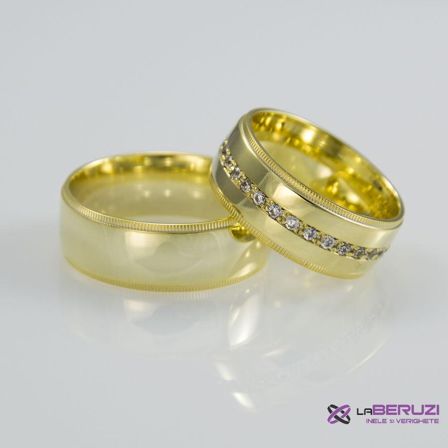 Verighete din aur de 14k SS 310