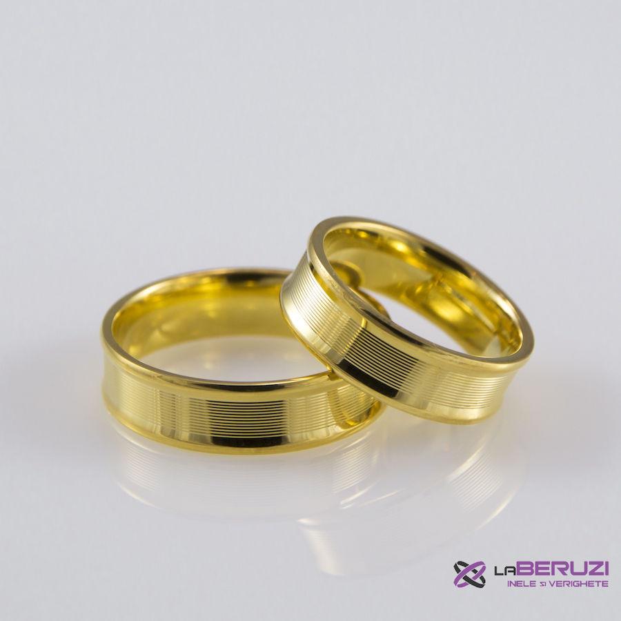 Verighete din aur de 14k SS 320
