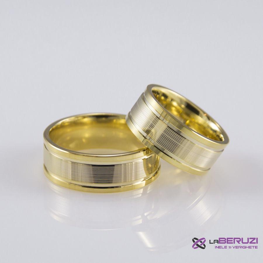 Verighete din aur de 14k SS 416