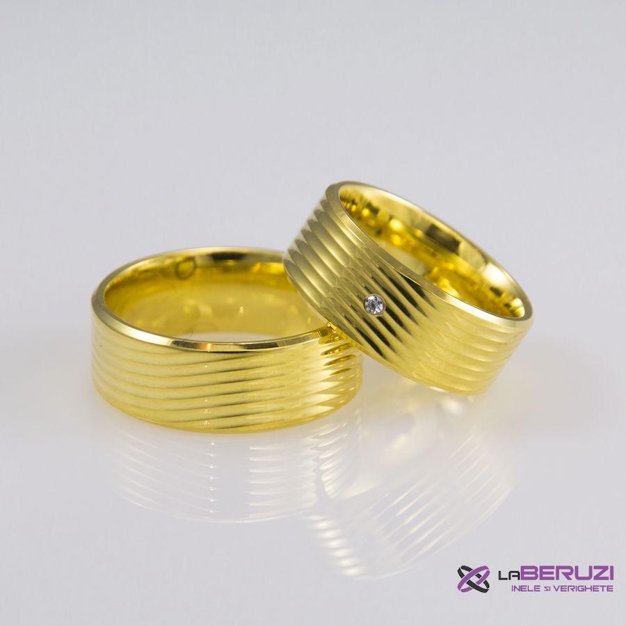 Verighete din aur de 14k SS 408