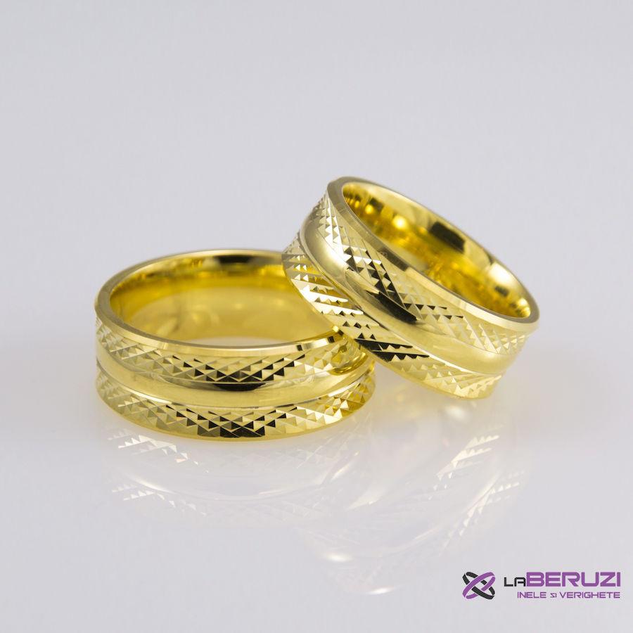 Verighete din aur de 14k SS 384