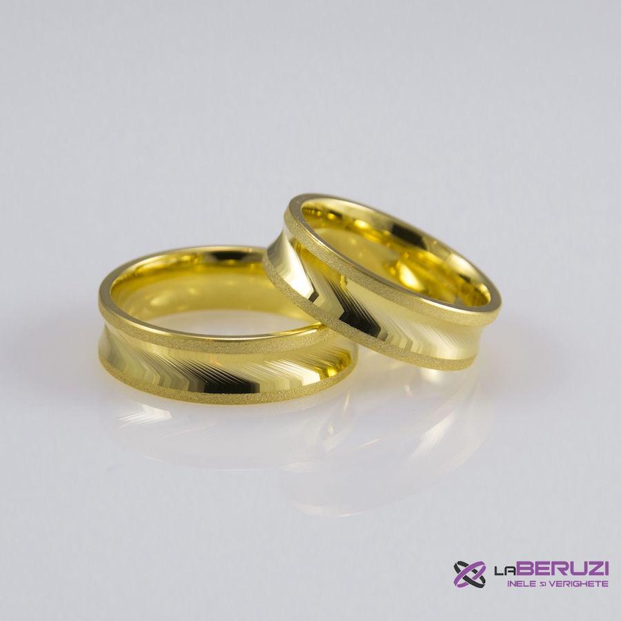 Verighete din aur de 14k SS 372