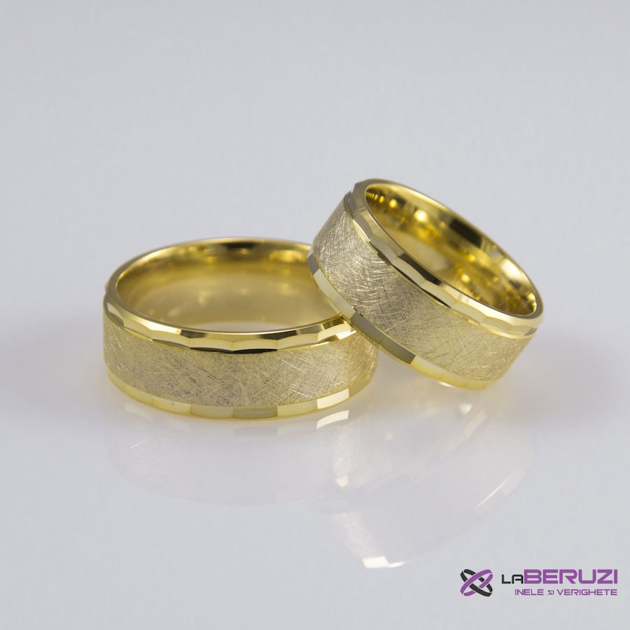 Verighete din aur de 14k SS 395
