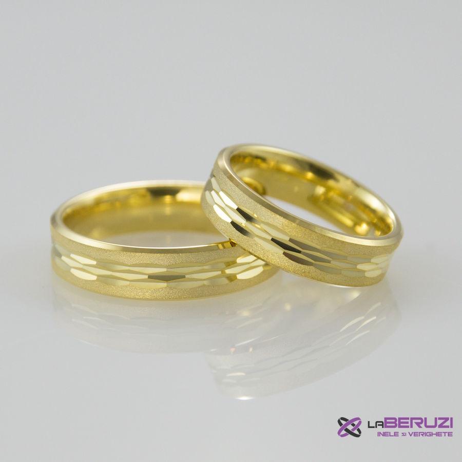 Verighete din aur de 14k SS 293
