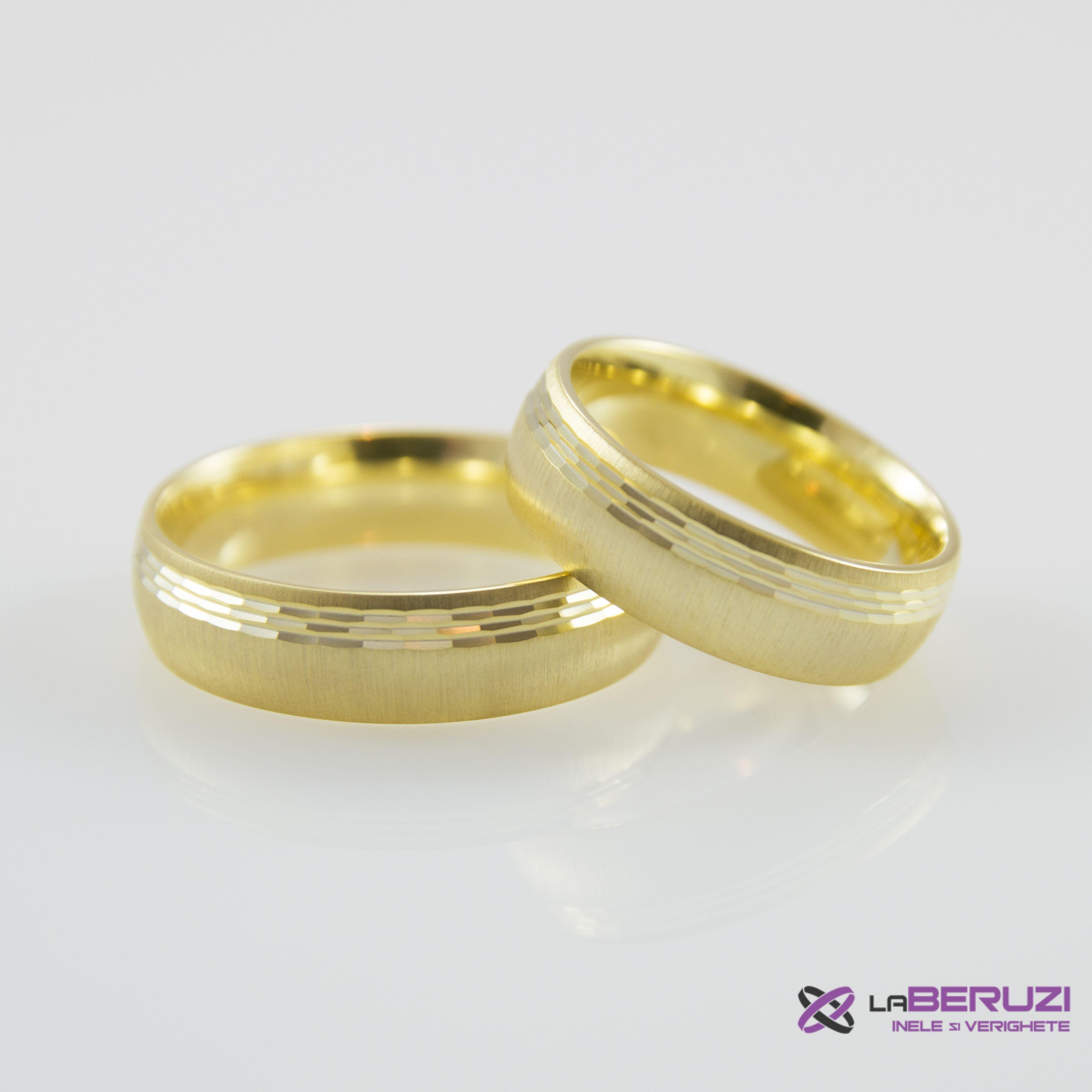 Verighete din aur de 14k SS 471