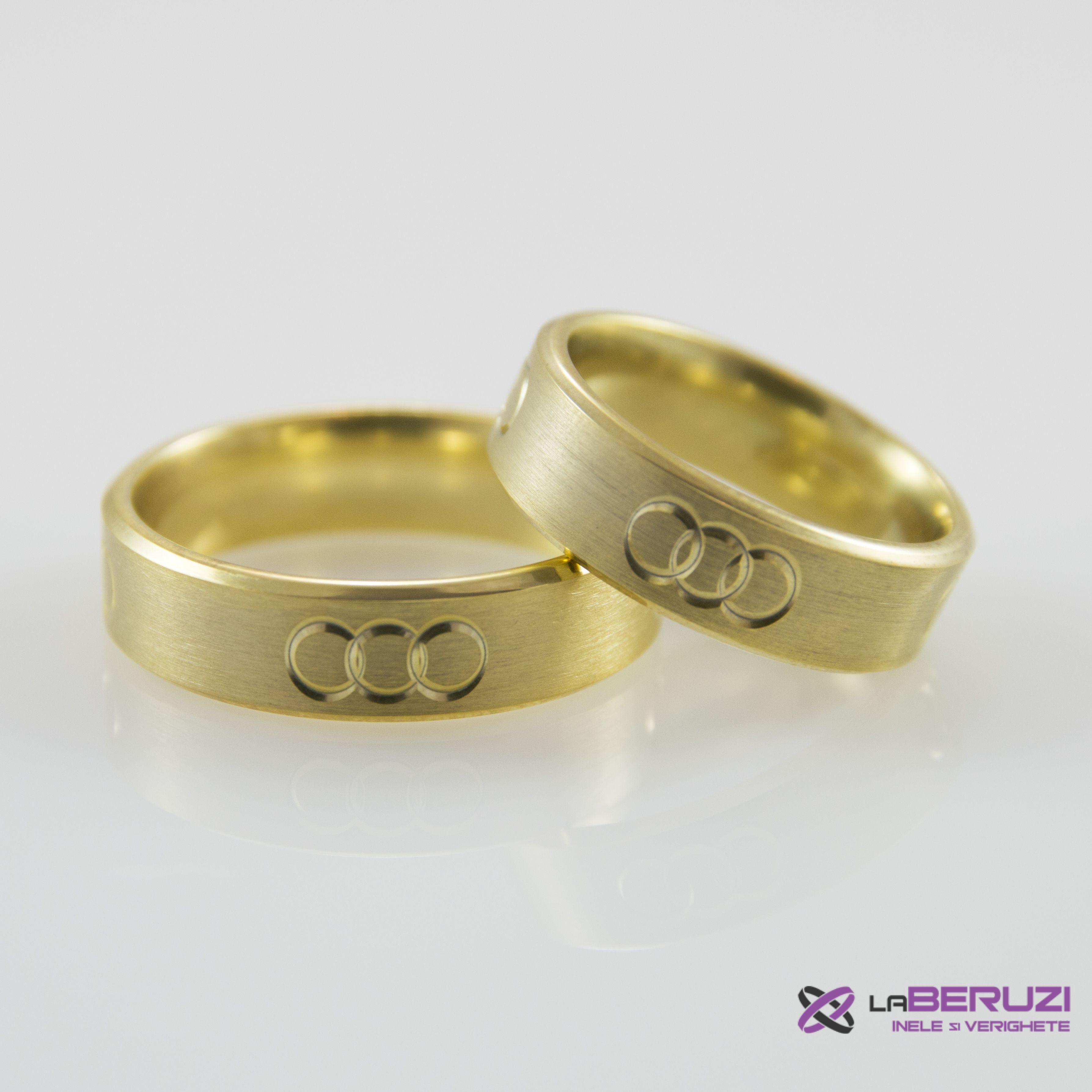 Verighete din aur de 14k SS 473