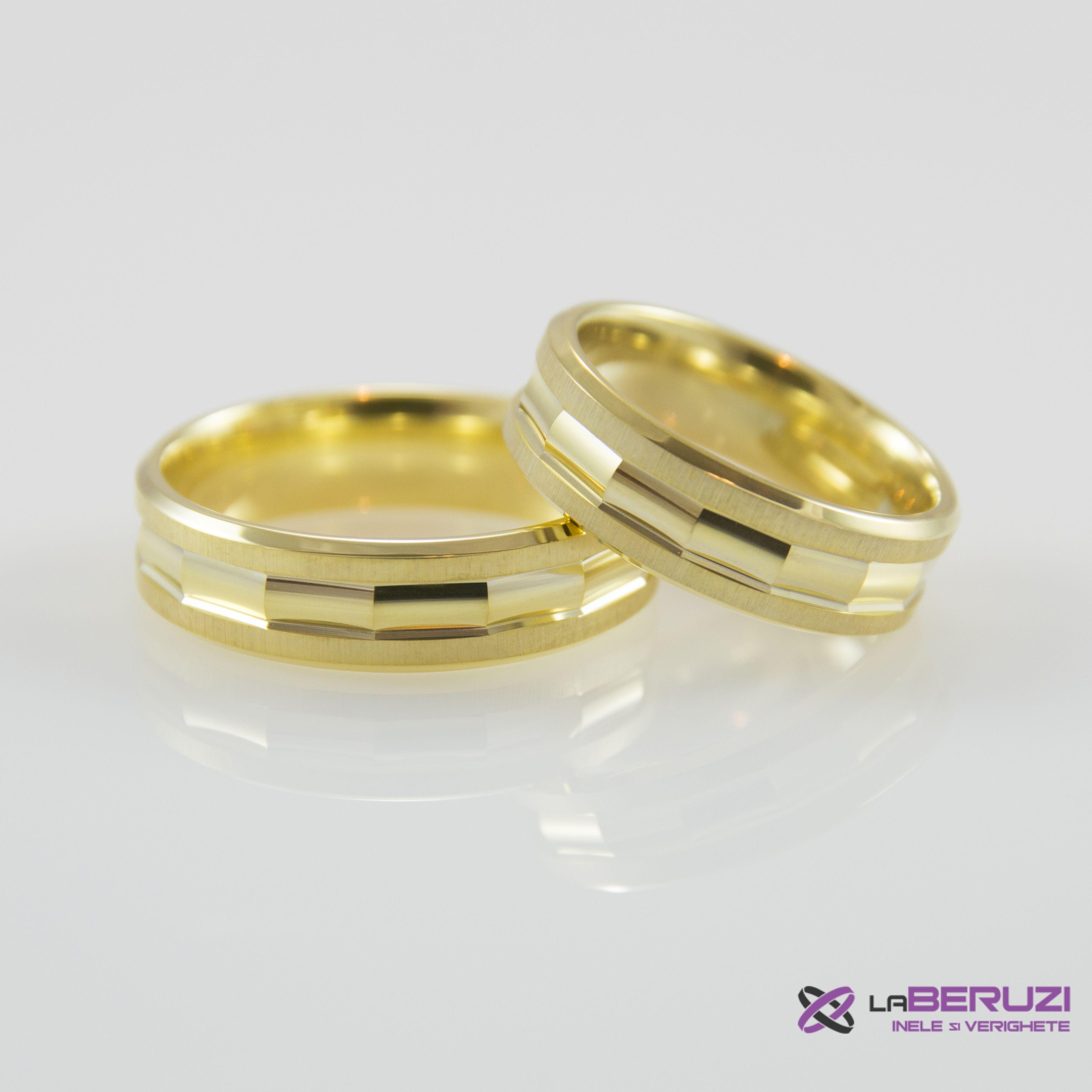 Verighete din aur de 14k SS 477