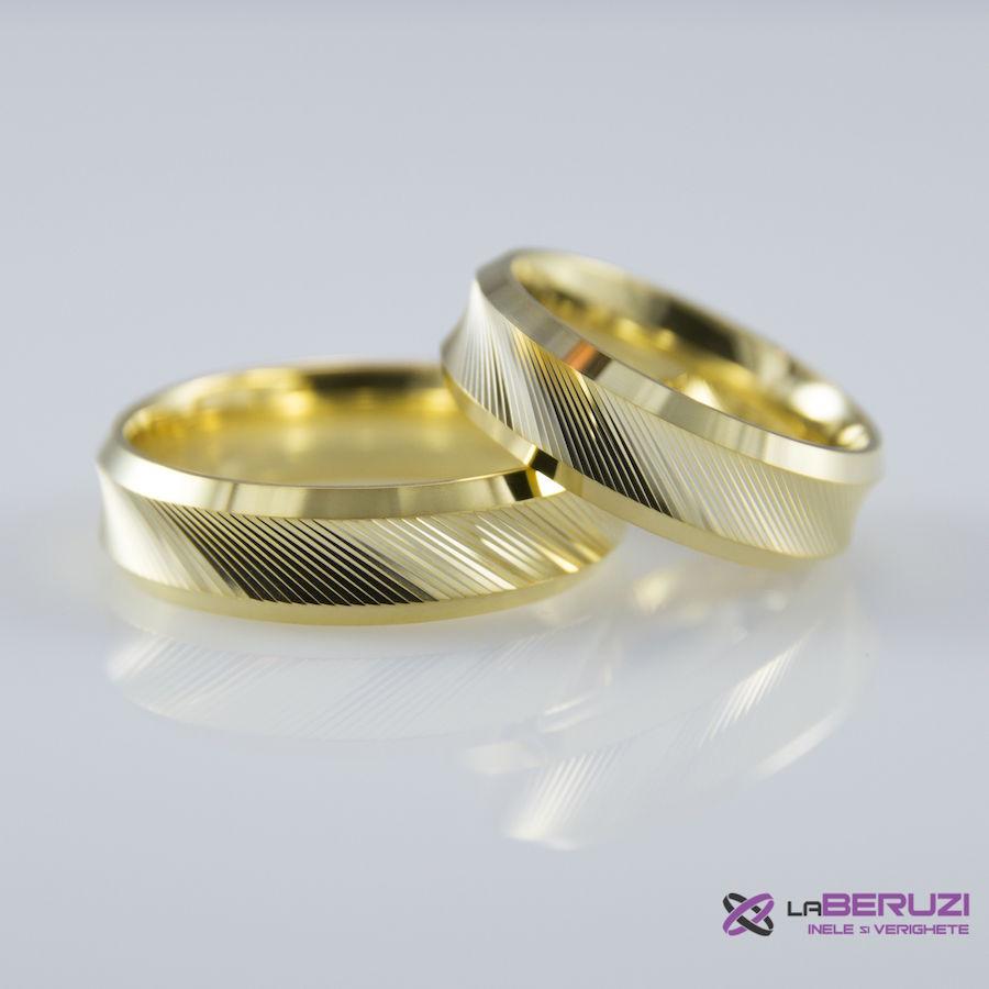 Verighete din aur de 14k SS 490