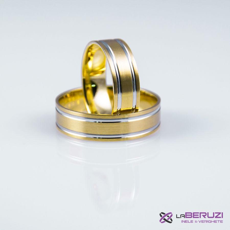 Verighete din aur de 14k GAT 011 - in stoc