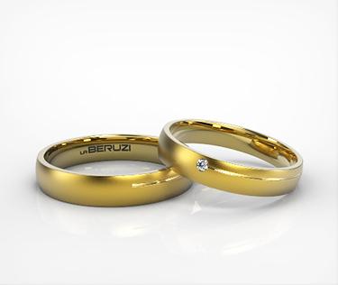 Verighete din aur galben de 14k SS 144