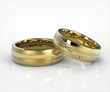 Verighete din aur galben de 14k SS 149