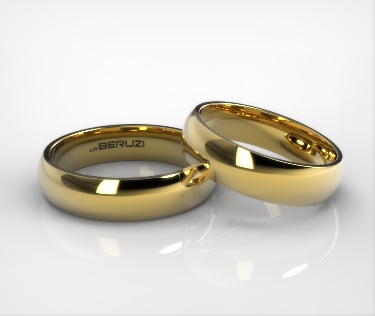 Verighete din aur galben de 14k SS 048