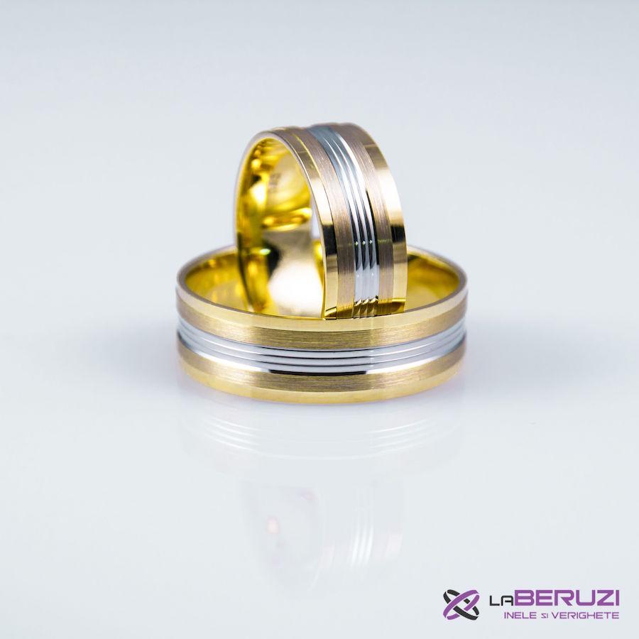 Verighete din aur de 14k GAT 009 - in stoc