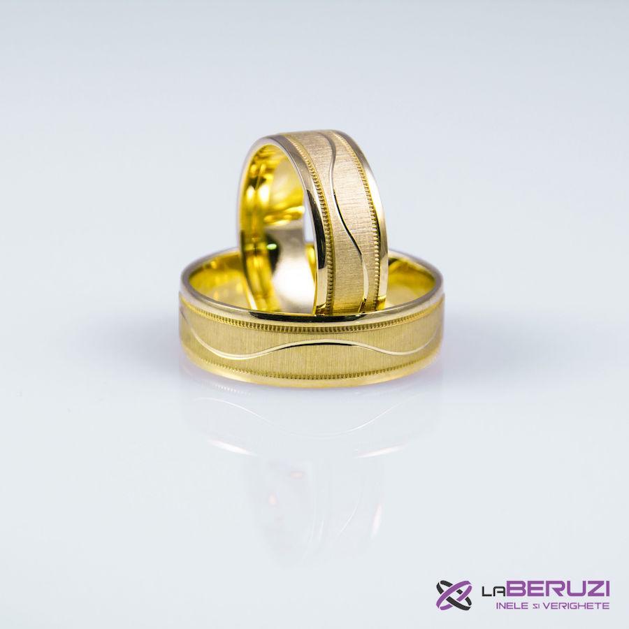 Verighete din aur de 14k GAT 001 - in stoc