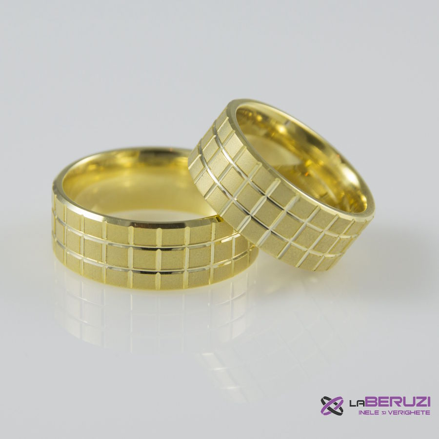 Verighete din aur de 14k SS 363