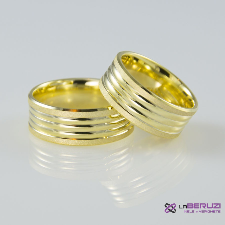 Verighete din aur de 14k SS 456