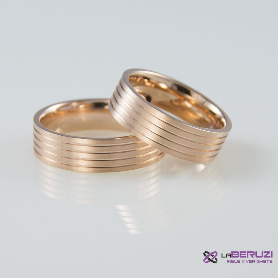 Verighete din aur de 14k SS 309