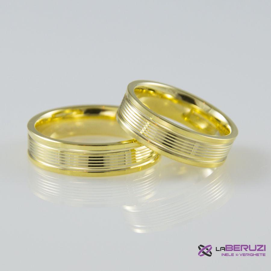 Verighete din aur de 14k SS 422