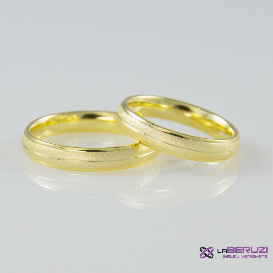 Verighete din aur de 14k SS 348
