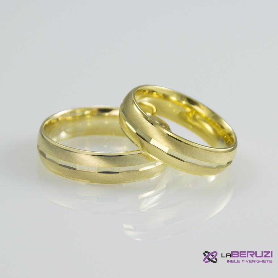 Verighete din aur de 14k SS 344
