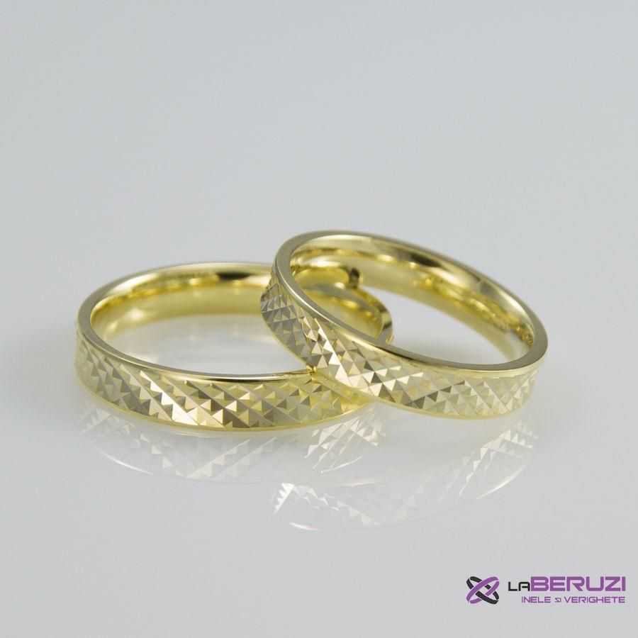 Verighete din aur de 14k SS 415