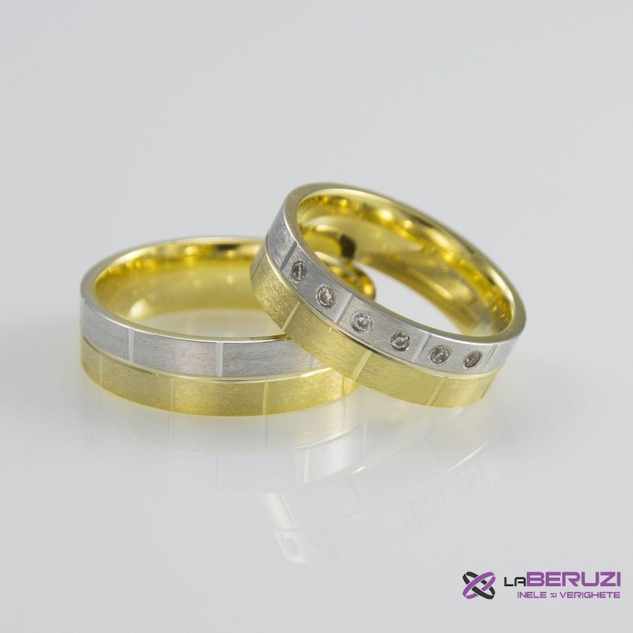 Verighete din aur de 14k SS 349