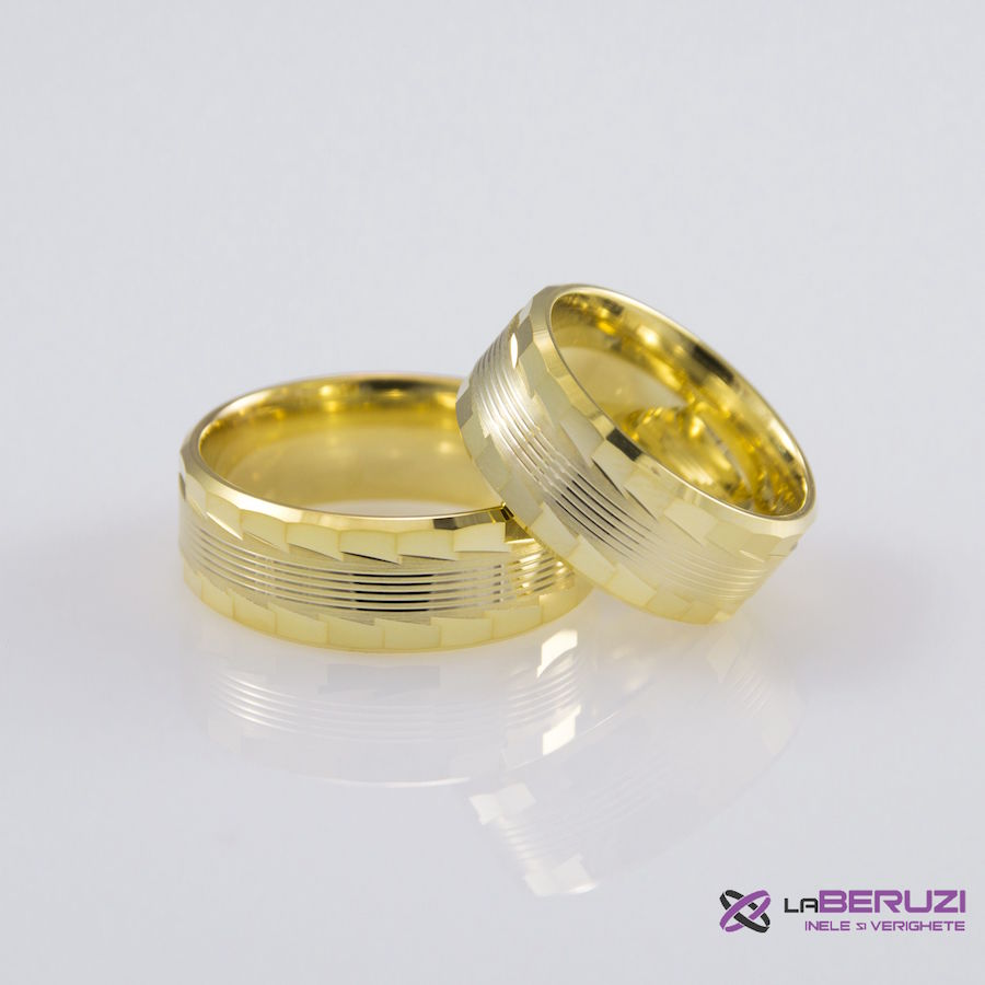 Verighete din aur de 14k SS 442