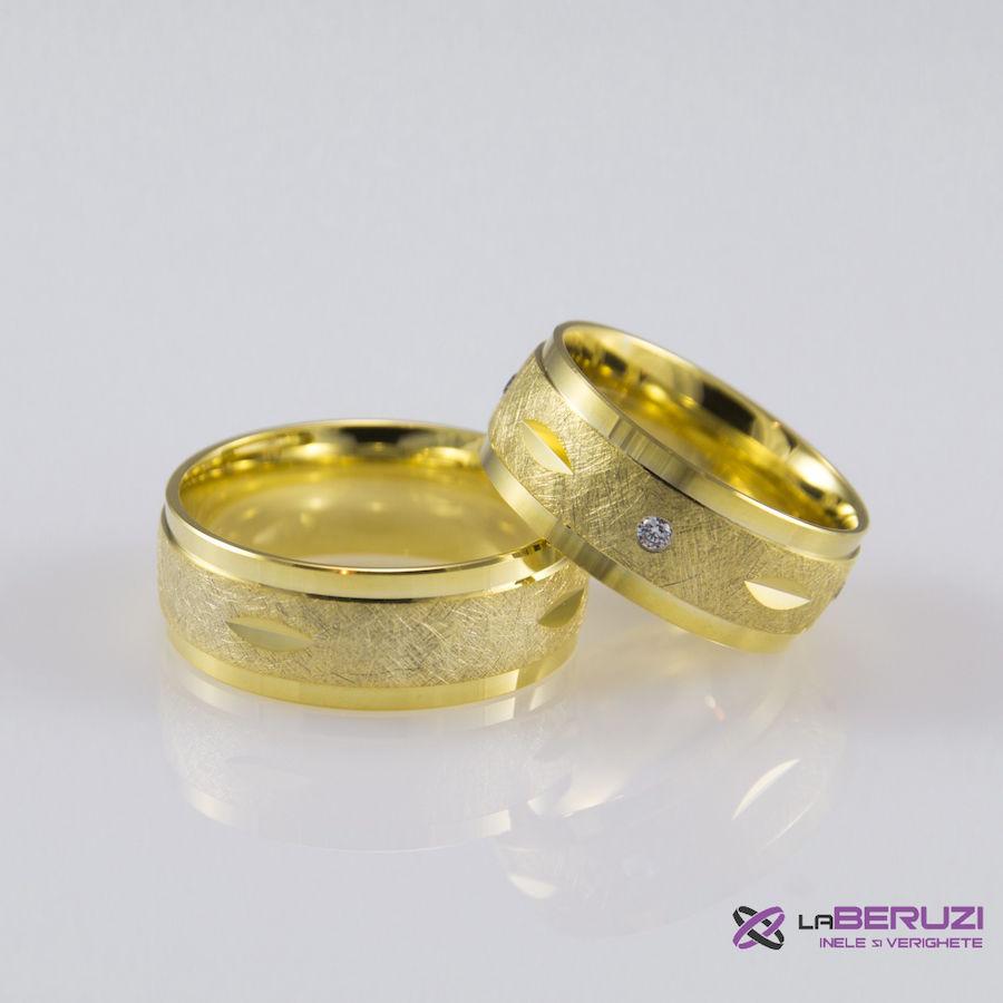 Verighete din aur de 14k SS 420