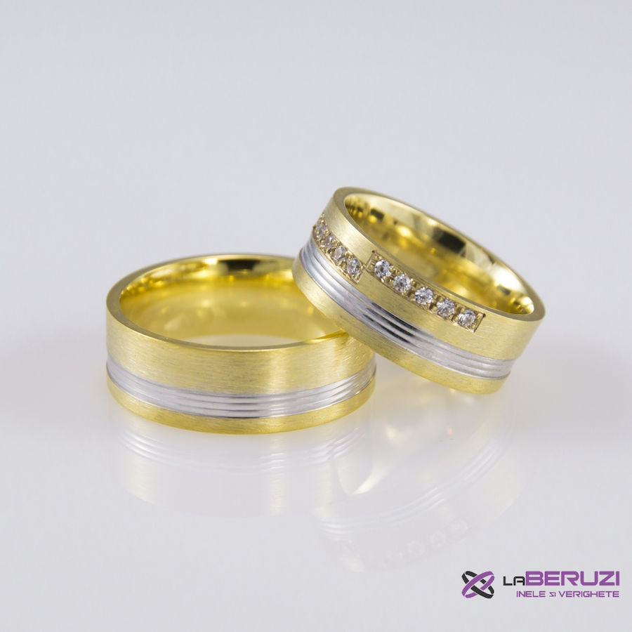 Verighete din aur de 14k SS 398