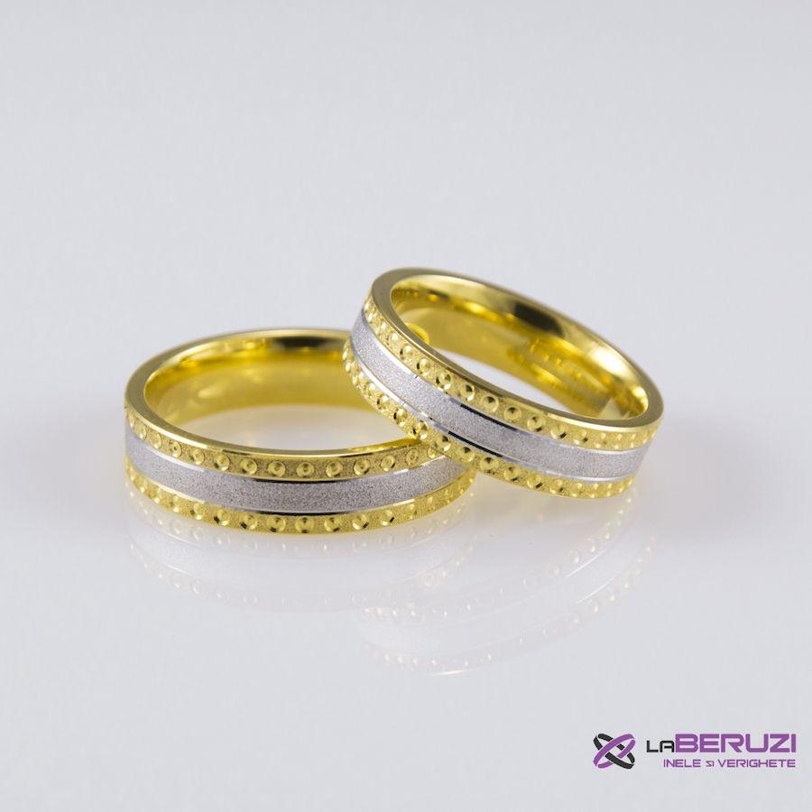 Verighete din aur de 14k SS 390