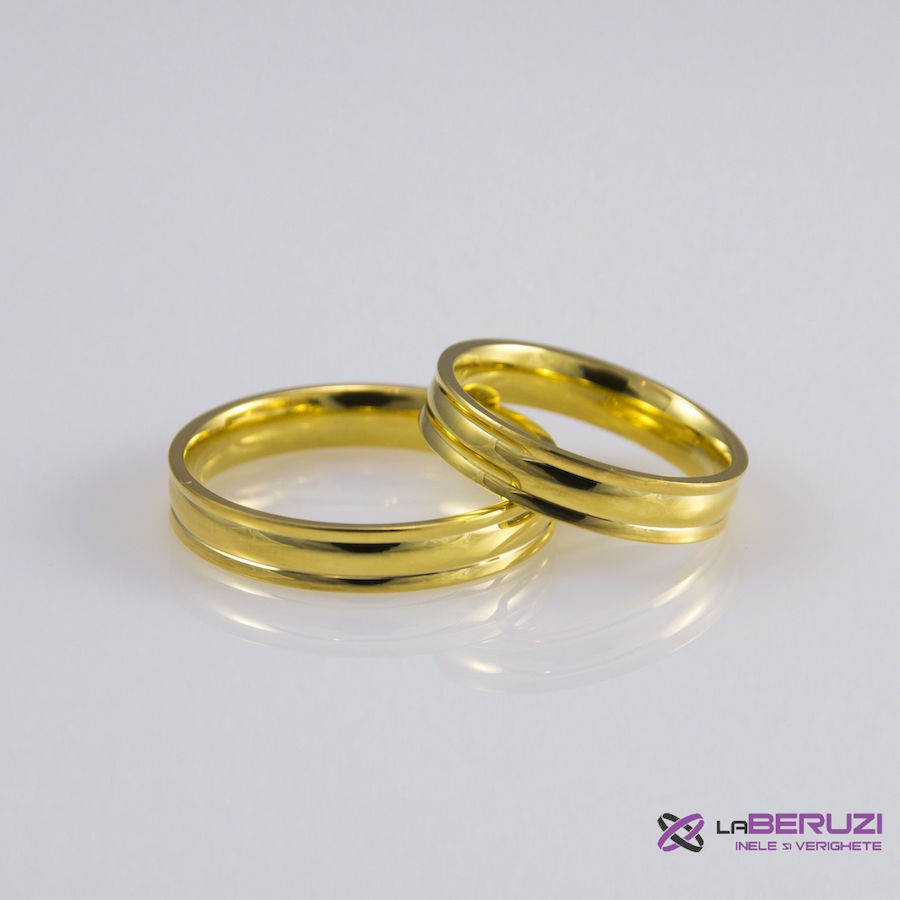 Verighete din aur de 14k SS 435