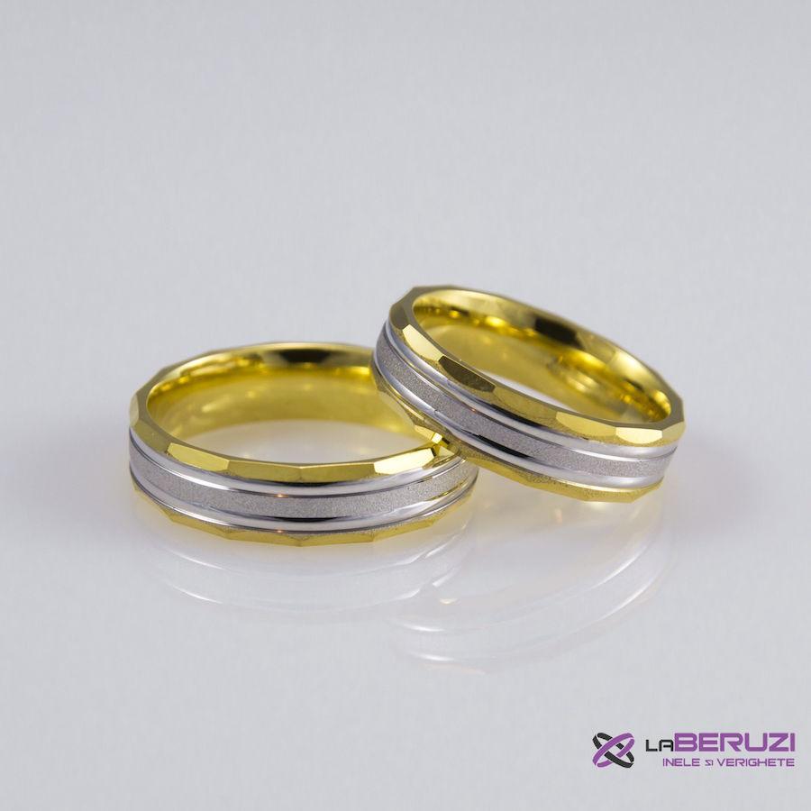 Verighete din aur de 14k SS 417