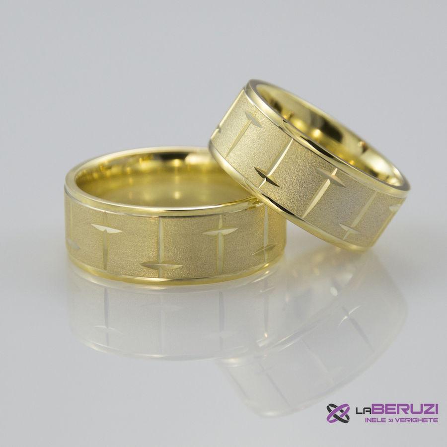 Verighete din aur de 14k SS 288
