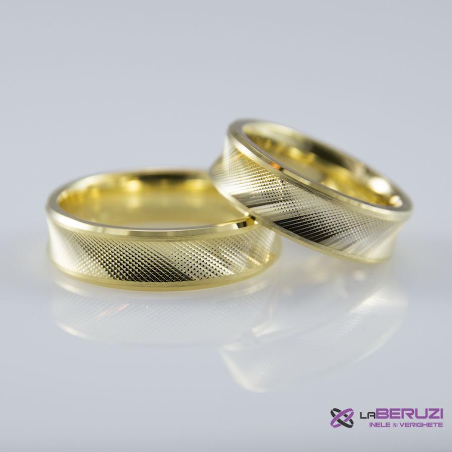 Verighete din aur de 14k SS 488