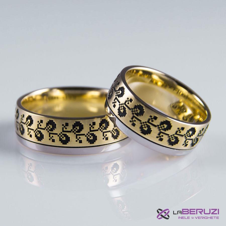 Verighete din aur de 14k SSG 1003