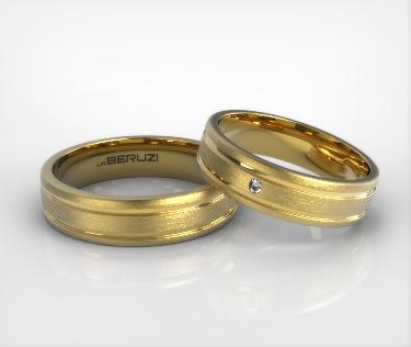 Verighete din aur galben de 14k SS 023
